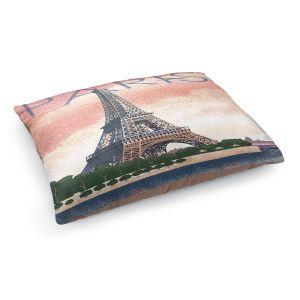 Decorative Dog Pet Beds   Lantern Press - Eiffel Tower Paris