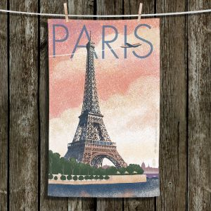 Unique Hanging Tea Towels | Lantern Press - Eiffel Tower Paris | Paris Eiffel Tower