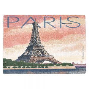 Countertop Place Mats   Lantern Press - Eiffel Tower Paris