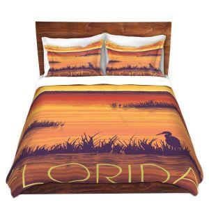 Artistic Duvet Covers and Shams Bedding   Lantern Press - Everglades National Park Florida
