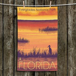 Unique Bathroom Towels | Lantern Press - Everglades National Park Florida