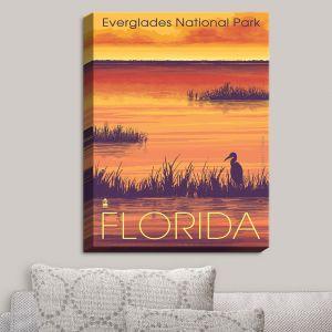 Decorative Canvas Wall Art   Lantern Press - Everglades National Park Florida