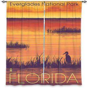 Decorative Window Treatments | Lantern Press - Everglades National Park Florida