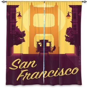 Decorative Window Treatments | Lantern Press - San Francisco Cable Car