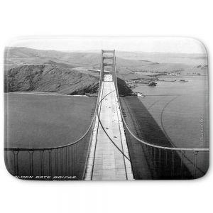 Decorative Bathroom Mats | Lantern Press - San Francisco Golden Gate Bridge II