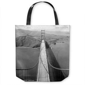 Unique Shoulder Bag Tote Bags | Lantern Press - San Francisco Golden Gate Bridge II
