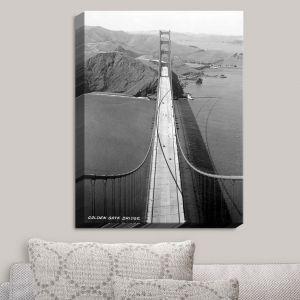 Decorative Canvas Wall Art | Lantern Press - San Francisco Golden Gate Bridge II