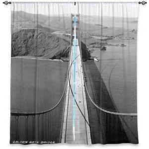 Decorative Window Treatments | Lantern Press - San Francisco Golden Gate Bridge II