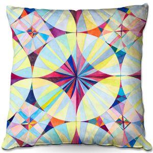 Throw Pillows Decorative Artistic | Lorien Suarez - Geo Botanicals 46 | Abstract Geometric Pattern