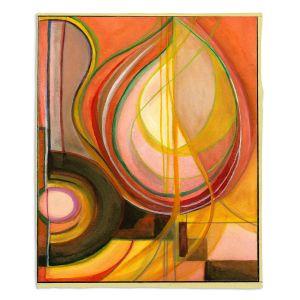 Decorative Fleece Throw Blankets | Lorien Suarez - Guitarra Alegre 2 | Abstract Music