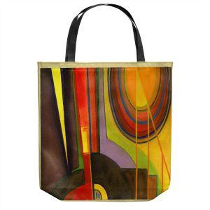 Unique Shoulder Bag Tote Bags | Lorien Suarez - Guitarra Alegre 4 | Abstract Music