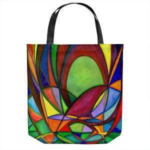Unique Shoulder Bag Tote Bags   Lorien Suarez - Living Water 1   Abstract