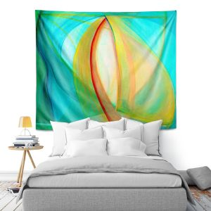 Artistic Wall Tapestry   Lorien Suarez - Sails   Abstract