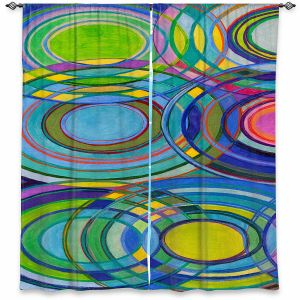 Decorative Window Treatments | Lorien Suarez - Water Series 1 | Abstract patterns