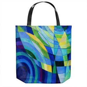 Unique Shoulder Bag Tote Bags   Lorien Suarez - Water Series 10   Abstract patterns