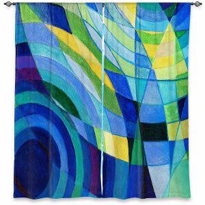 Decorative Window Treatments | Lorien Suarez - Water Series 10 | Abstract patterns