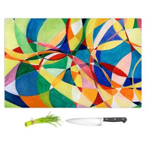 Artistic Kitchen Bar Cutting Boards | Lorien Suarez - Water Series 11 | Abstract patterns