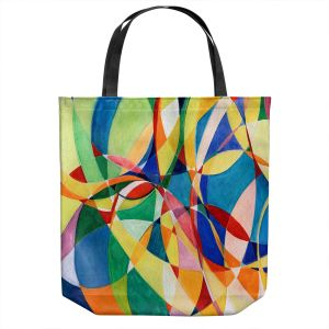 Unique Shoulder Bag Tote Bags | Lorien Suarez - Water Series 11 | Abstract patterns