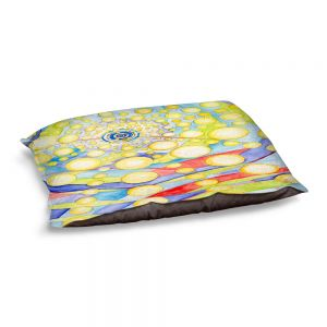 Decorative Dog Pet Beds | Lorien Suarez - Water Series 12 | Abstract patterns