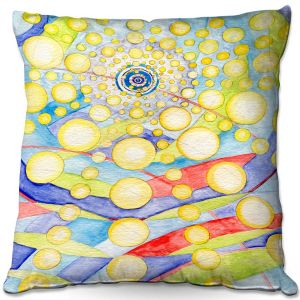 Throw Pillows Decorative Artistic | Lorien Suarez - Water Series 12 | Abstract patterns