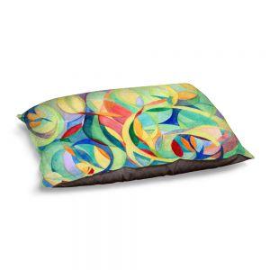 Decorative Dog Pet Beds | Lorien Suarez - Water Series 14 | Abstract patterns