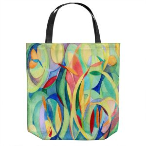 Unique Shoulder Bag Tote Bags | Lorien Suarez - Water Series 14 | Abstract patterns