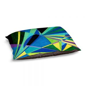 Decorative Dog Pet Beds | Lorien Suarez - Water Series 2 | Abstract patterns