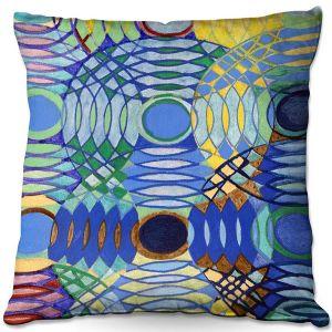 Throw Pillows Decorative Artistic | Lorien Suarez - Water Series 5 | Abstract patterns