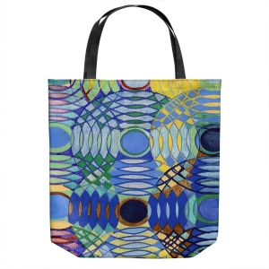 Unique Shoulder Bag Tote Bags | Lorien Suarez - Water Series 5 | Abstract patterns