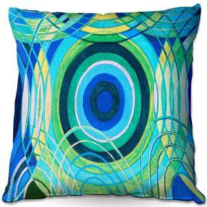 Throw Pillows Decorative Artistic | Lorien Suarez - Water Series 8 | Abstract patterns