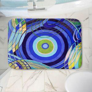 Decorative Bathroom Mats | Lorien Suarez - Water Series 9 | Abstract patterns