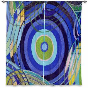 Decorative Window Treatments   Lorien Suarez - Water Series 9   Abstract patterns