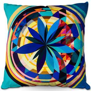 Throw Pillows Decorative Artistic | Lorien Suarez - Wheel 118 | Geometric
