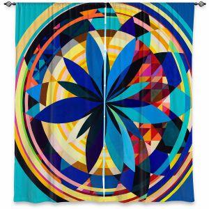 Decorative Window Treatments   Lorien Suarez - Wheel 118   Geometric