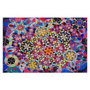 Decorative Floor Covering Mats   Lorien Suarez - Wheel 16   Abstract