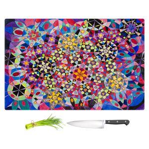 Artistic Kitchen Bar Cutting Boards | Lorien Suarez - Wheel 16 | Abstract