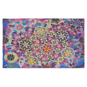 Artistic Pashmina Scarf | Lorien Suarez - Wheel 16 | Abstract