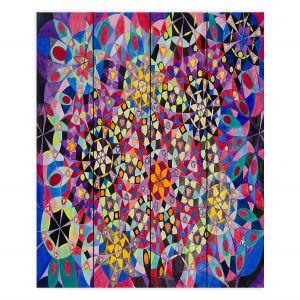 Decorative Wood Plank Wall Art | Lorien Suarez - Wheel 16 | Abstract