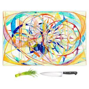 Artistic Kitchen Bar Cutting Boards   Lorien Suarez - Wheel 2   Abstract
