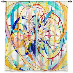 Decorative Window Treatments   Lorien Suarez - Wheel 2   Abstract