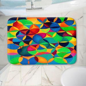 Decorative Bathroom Mats | Lorien Suarez - Wheel 28 | Geometric Abstract