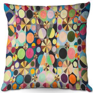 Throw Pillows Decorative Artistic | Lorien Suarez - Wheel 88 | Geometric Abstract