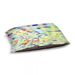 Decorative Dog Pet Beds | Lorien Suarez - Wheel 9 | Abstract