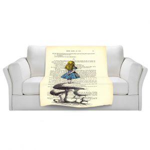 Artistic Sherpa Pile Blankets   Madame Memento Alice