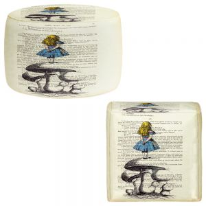 Round and Square Ottoman Foot Stools | Madame Memento - Alice