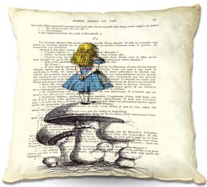 Decorative Outdoor Patio Pillow Cushion | Madame Memento - Alice