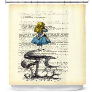 Premium Shower Curtains | Madame Memento Alice