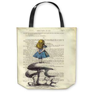 Unique Shoulder Bag Tote Bags | Madame Memento Alice