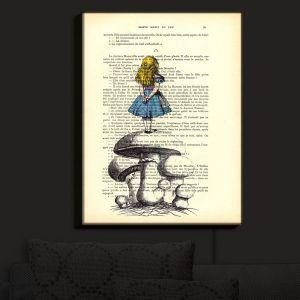 Nightlight Sconce Canvas Light | Madame Memento - Alice