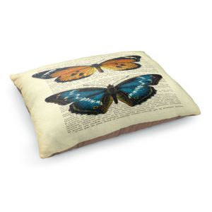 Decorative Dog Pet Beds | Madame Memento's Butterflies II